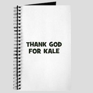Thank God for kale Journal