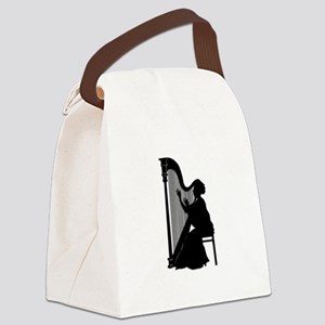 Harpist Canvas Lunch Bag