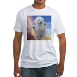 Happy Dog Fitted T-Shirt