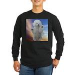 Happy Dog Long Sleeve Dark T-Shirt