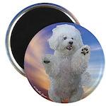 Happy Dog Magnet