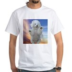 Happy Dog White T-Shirt