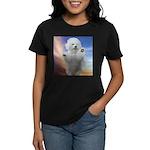 Happy Dog Women's Dark T-Shirt