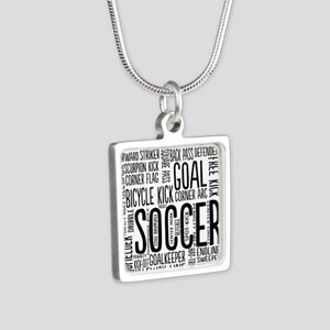 Soccer Word Cloud Necklaces