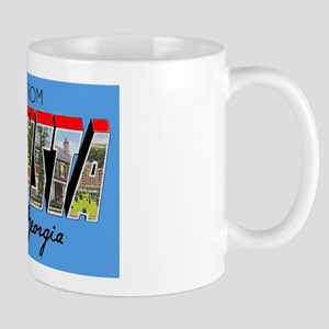 Augusta Georgia Greetings Mug