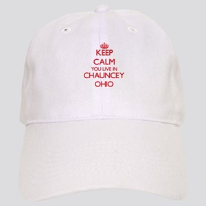 Keep calm you live in Chauncey Ohio Cap