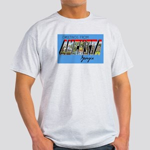 Augusta Georgia Greetings (Front) Light T-Shirt