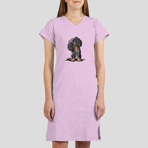 B&B King Charles Spaniel Women's Nightshirt