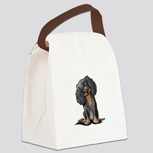 B&B King Charles Spaniel Canvas Lunch Bag