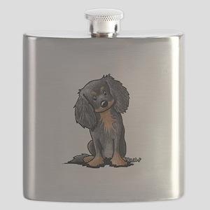 B&B King Charles Spaniel Flask