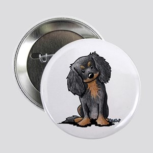 "B&B King Charles Spaniel 2.25"" Button"