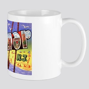 Belmar New Jersey Greetings Mug