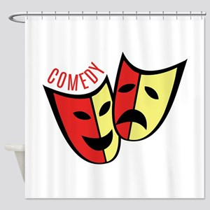 Comedy Shower Curtain