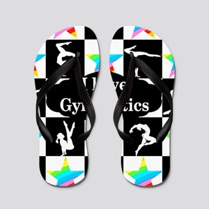 GYMNASTICS LOVE Flip Flops