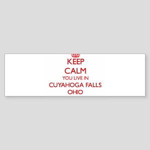 Keep calm you live in Cuyahoga Fall Bumper Sticker