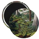Canadian Landscape Art Fridge Magnet