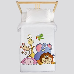 Jungle Animals Twin Duvet