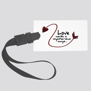 Mysterious ways Luggage Tag
