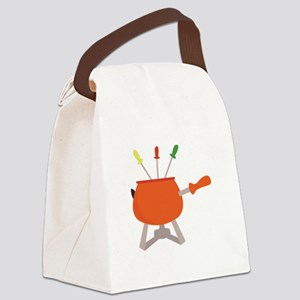 Choose Your Color Canvas Lunch Bag
