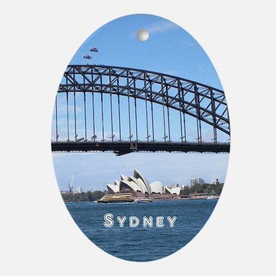 Sydney Ornament (Oval)