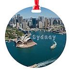 Sydney Round Ornament