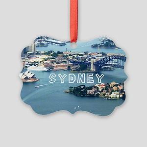 Sydney Picture Ornament