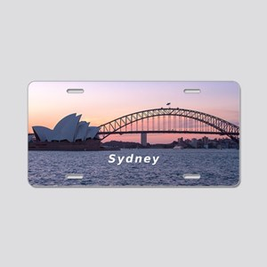 Sydney Aluminum License Plate