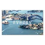 Sydney Sticker (Rectangle 50 pk)