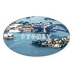 Sydney Sticker (Oval 10 pk)
