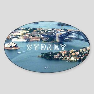 Sydney Sticker (Oval)