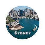 "Sydney 3.5"" Button (100 pack)"