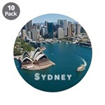 "Sydney 3.5"" Button (10 pack)"