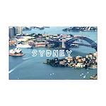 Sydney Rectangle Car Magnet