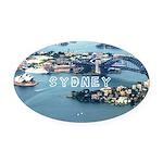 Sydney Oval Car Magnet