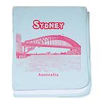Sydney baby blanket