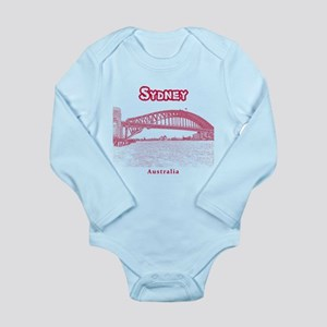 Sydney Long Sleeve Infant Bodysuit