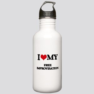 I Love My FREE IMPROVI Stainless Water Bottle 1.0L