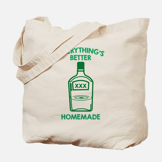 Everything's Better Homemade Tote Bag