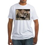 Not Food- Cows Fitted T-Shirt