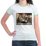 Not Food- Cows Jr. Ringer T-Shirt