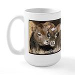 Not Food- Cows Large Mug