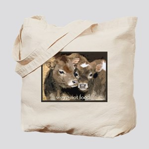 Not Food- Cows Tote Bag