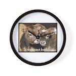 Not Food- Cows Wall Clock