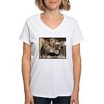 Not Food- Cows Women's V-Neck T-Shirt