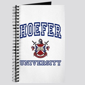 HOEFER University Journal