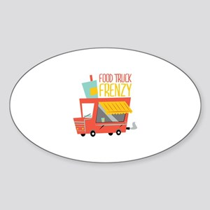 Food Truck Frenzy Sticker