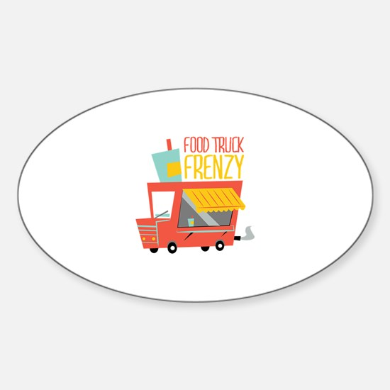 Food Truck Frenzy Decal