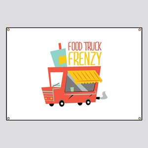 Food Truck Frenzy Banner