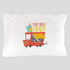 Food Truck Frenzy Pillow Case