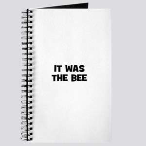 it was the bee Journal